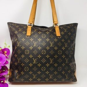 Preowned Authentic LV Monorgam Cabas Piano Tote